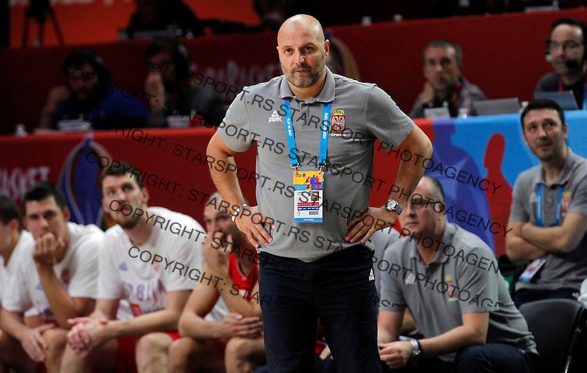 Aleksandar Djordjevic European championship basketball match for third place between France and Serbia on September 20, 2015 in Lille, France  (credit image & photo: Pedja Milosavljevic / STARSPORT)