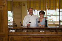 """Europe/France/Aquitaine/64/Pyrénées-Atalntiques/ Barcus: Pierre  et Marine Chilo Hotel-Restaurant """"Chilo"""""""