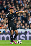 Presnel Kimpembe of Paris Saint Germain in action during the UEFA Champions League 2017-18 Round of 16 (1st leg) match between Real Madrid vs Paris Saint Germain at Estadio Santiago Bernabeu on February 14 2018 in Madrid, Spain. Photo by Diego Souto / Power Sport Images
