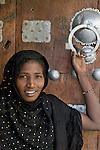 Portrait of a Tuareg woman, Mali.