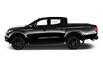 Car driver side profile view of a 2019 Mitsubishi L200 Black Collection Plus 4 Door Pick Up