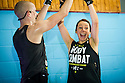 Les Mills Launch Sept 2016<br /> <br /> Body Combat<br /> <br /> Cameron Renwick,  Ashley Theron