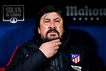 Assistant coach German Burgos of Atletico de Madrid prior to the La Liga 2017-18 match between Atletico de Madrid and CD Leganes at Wanda Metropolitano on February 28 2018 in Madrid, Spain. Photo by Diego Souto / Power Sport Images