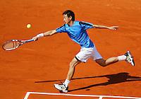 29-5-06,France, Paris, Tennis , Roland Garros, Wang in his  first round match
