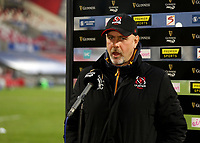 6 March 2021; Ulster Head Coach Dan McFarland before the Guinness PRO14 match between Ulster and Leinster at Kingspan Stadium in Belfast. Photo by John Dickson/Dicksondigital