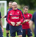 Mark Warburton enjoying training