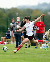 Saturday 4th September 20218 <br /> <br /> Joseph O'Rawe during U18 Clubs inter-pro between Ulster Rugby and Leinster at Newforge Country Club, Belfast, Northern Ireland. Photo by John Dickson/Dicksondigital