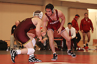 STANFORD, CA - FEBRUARY 6:  141 pounds Cameron Teitelman of the Stanford Cardinal during Stanford's 20-19 win against the Arizona State Sun Devils on February 6, 2009 at Burnham Pavilion in Stanford, California.