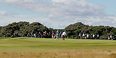 Hayden Porteus (RSA) during the quarter final round of the Aberdeen Asset Management Paul Lawrie Matchplay being played over the Fidra Links at Archerfield, East Lothian from 4th to 7th August 2016:  Picture Stuart Adams, www.golftourimages.com: 06/08/2016