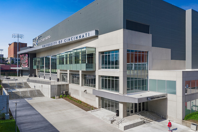 University of Cincinnati<br /> Fifth Third Arena   Moody Nolan