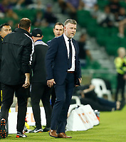 18th April 2021; HBF Park, Perth, Western Australia, Australia; A League Football, Perth Glory versus Wellington Phoenix; Ufuk Talay head coach of Wellington Phoenix before the start of the match