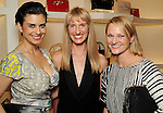 From left: Soula Parassidis, Chris Goins and Morgan Garvey at the Versace pre-party for the Vogue Galleria Fashion Show at the Galleria Thursday Sept. 10,2015.(Dave Rossman photo)
