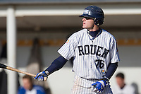 19 Oct 2008: Joris Bert is seen at bat during game 5 of the french championship finals between Templiers (Senart) and Huskies (Rouen) in Chartres, France. The Huskies win 3-2 over the Templiers. Rouen win the series 3-2 to capture their fith title and fourth in a row.