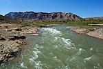 Morocco, Souss-Massa-Draa, near Tansikht: Draa valley and the Draa river | Marokko, Souss-Massa-Draa, bei Tansikht: der Wadi Draa - auch Darha oder Dara genannt - ist Marokkos laengster Fluss