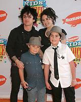 Billy Joe Armstrong.Nickelodeon Kid's Choice Awards.Pauley Pavillion, UCLA.Westwood, CA.April 1, 2006.©2006 Kathy Hutchins / Hutchins Photo....