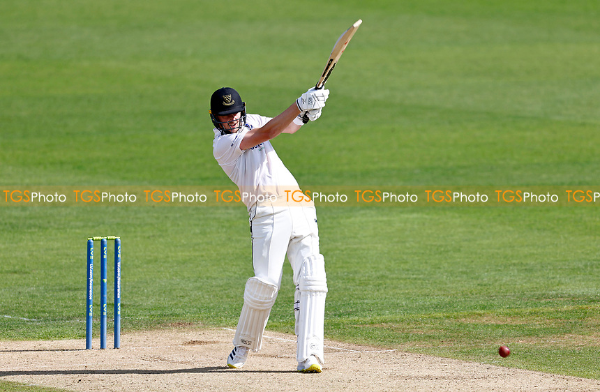 Ollie Robinson hits out for Sussex during Kent CCC vs Sussex CCC, LV Insurance County Championship Group 3 Cricket at The Spitfire Ground on 11th July 2021