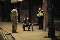 2017 01 11 Bomb squad called at Pink Geranium pub, Pontardawe, Wales, UK