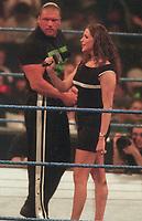 Triple H  Stephanie McMahon 2000                                                      Photo By John Barrett/PHOTOlink
