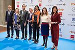 Ignacio Aguado, Enrique Cerezo, Begoña Villacis, Andrea Levi and Elena Sanchez attend public reading finalists of the 25 Jose Forque Film Awards<br /> Madrid, Spain. <br /> November 21, 2019. <br /> (ALTERPHOTOS/David Jar)