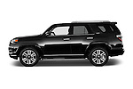 Car driver side profile view of a 2015 Toyota 4Runner Limited 5 Door SUV