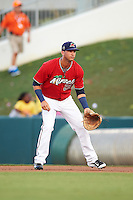 Fort Myers Miracle first baseman Bryan Haar (23) during a game against the Daytona Tortugas on June 17, 2015 at Hammond Stadium in Fort Myers, Florida.  Fort Myers defeated Daytona 9-5.  (Mike Janes/Four Seam Images)