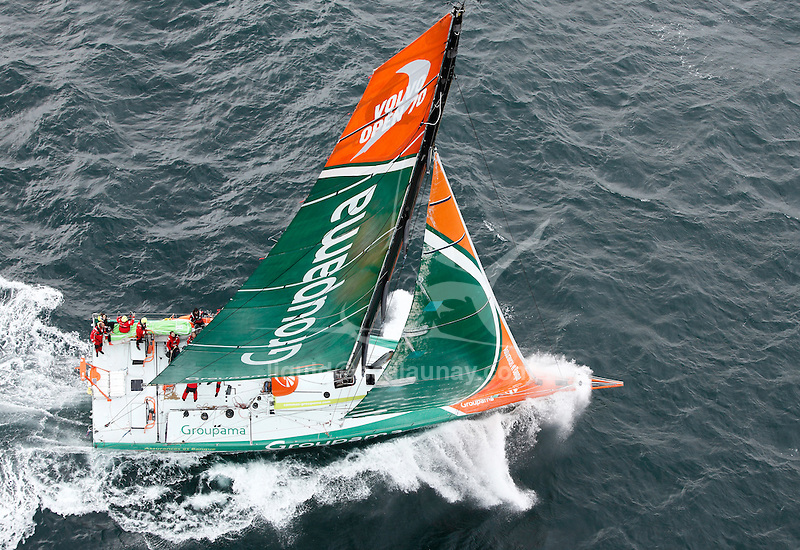 Tour de Belle Ile 2011, The second sailing event in France, in number of participating vessels, La Trinite sur Mer, Brittany, France.