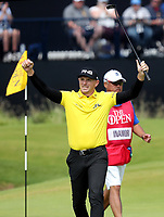 200719 | The 148th Open - Day 3<br /> <br /> Matt Wallace of England celebrates a birdie on the 13th on the 1st during the 148th Open Championship at Royal Portrush Golf Club, County Antrim, Northern Ireland. Photo by John Dickson - DICKSONDIGITAL