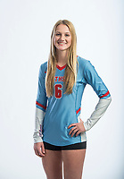 NWA Democrat-Gazette/BEN GOFF @NWABENGOFF<br /> Hannah Hogue of Fort Smith Southside, volleyball newcomer of the year, poses for a photo Wednesday, Nov. 28, 2018, at the Northwest Arkansas Democrat-Gazette studio in Springdale.