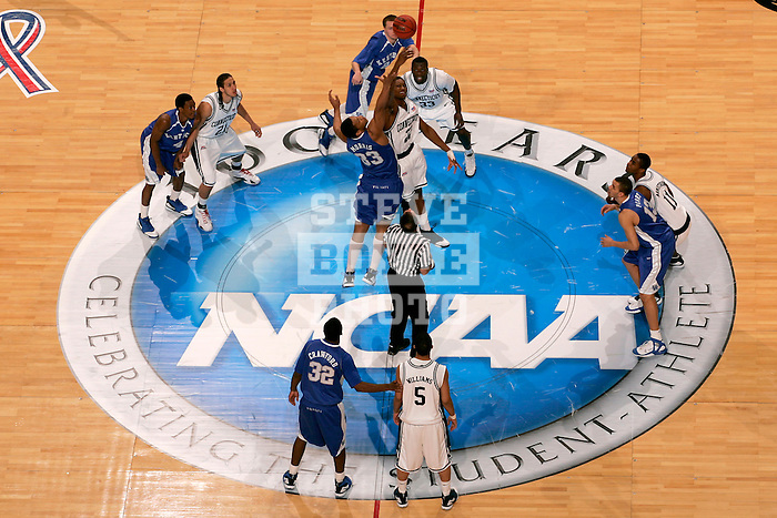 Connecticut defeated Kentucky 87-83 in the second round of the NCAA Tournament  at the Wachovia Center in Philadelphia, Pennsylvania on March 19, 2006.