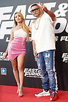 Spanish singers Ana Mena and Rocco Hunt during the photocall for the 'Fast & Furious 9' Madrid Premiere. June 17, 2021. (ALTERPHOTOS/Acero)
