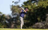 Kerry Mountcastle during the New Zealand Amateur Golf Championship, Poverty Bay Golf Course, Awapuni Links, Gisborne, Friday 23 October 2020. Photo: Simon Watts/www.bwmedia.co.nz