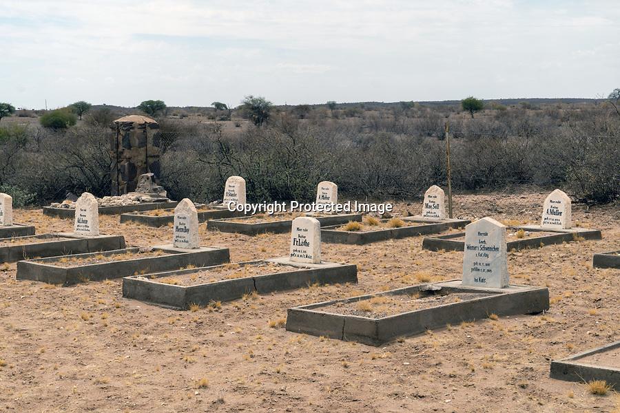 Polizeistation der Deutschen Schutztruppe in Namibia