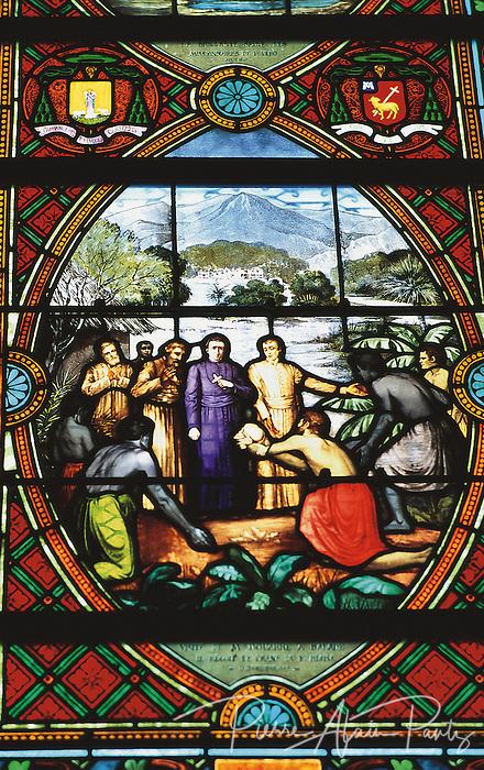 vitraux de l'église de Balade