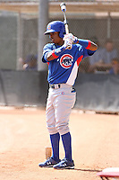 Arismendy Alcantara, Chicago Cubs 2010 extended spring training..Photo by:  Bill Mitchell/Four Seam Images.