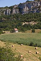 Europe/France/Midi-Pyrénées/46/Lot/Env de Marcilhac-sur-Célé:la vallée du célé