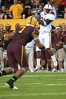 TEMPE, AZ - November 13, 2010: Jamal-Rashad Patterson during a football game at Arizona State University in Tempe, Arizona. Stanford won 17-13.