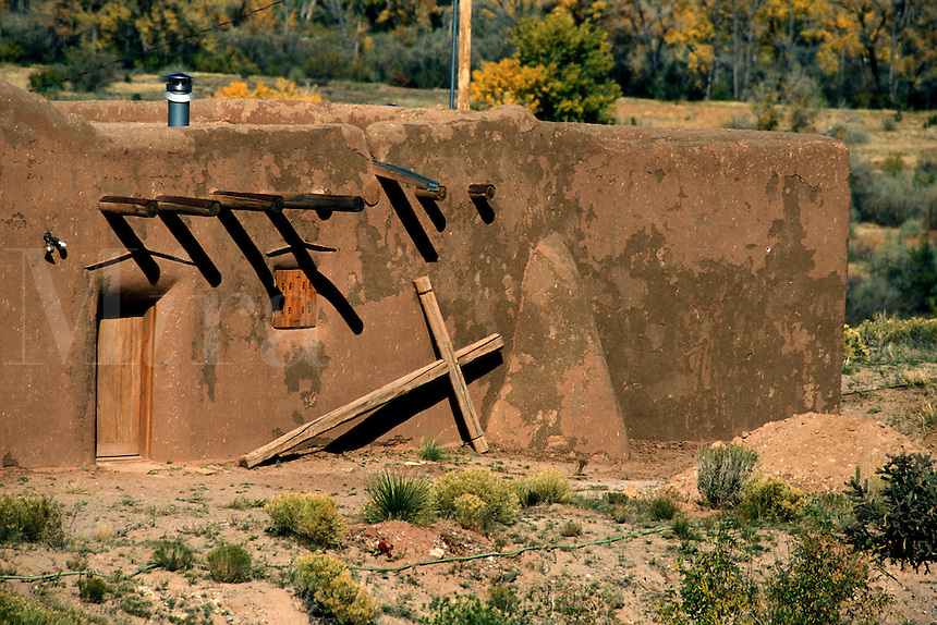 Penitente Brotherhood Chapel in Abiquiu, New Mexico (Morada