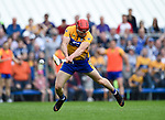 John Conlon of Clare goals against Waterford in the first half during their Munster  championship round robin game at Cusack Park. Half time score, Clare 2-11, Waterford 1-08. Photograph by John Kelly.