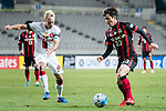 FC Seoul Midfielder Lee Seokhyun (R) in action against Sydney Wanderers Midfielder Mitch Nichols (L) during the AFC Champions League 2017 Group F match between FC Seoul (KOR) vs Western Sydney Wanderers (AUS) at the Seoul World Cup Stadium on 15 March 2017 in Seoul, South Korea. Photo by Chung Yan Man / Power Sport Images