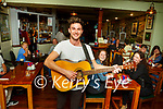 Killarney Singer songwriter Cathal Flaherty return to playing gigs in the Failte Hotel on Friday night