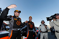 IMSA Continental Tire SportsCar Challenge<br /> Mazda Raceway Laguna Seca 240<br /> Mazda Raceway Laguna Seca<br /> Monterey, CA USA<br /> Saturday 23 September 2017<br /> 75, Audi, Audi S3, ST, Roy Block, Pierre Kleinubing, podium<br /> World Copyright: YOUR NAME HERE<br /> LAT Images