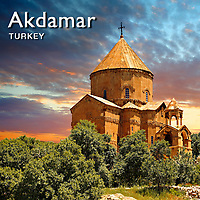 Pictures of Armenian Cathedral church - Akdamar Turkey