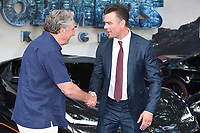 "Jim Carter and Josh Duhamel<br /> at the ""Transformers:The Last Night"" Global premiere, Leicester Square, London. <br /> <br /> <br /> ©Ash Knotek  D3284  18/06/2017"