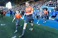 Oli McBurnie of Swansea City exits the tunnel during the Sky Bet Championship match between Sheffield Wednesday and Swansea City at Hillsborough Stadium, Sheffield, England, UK. Saturday 23 February 2019