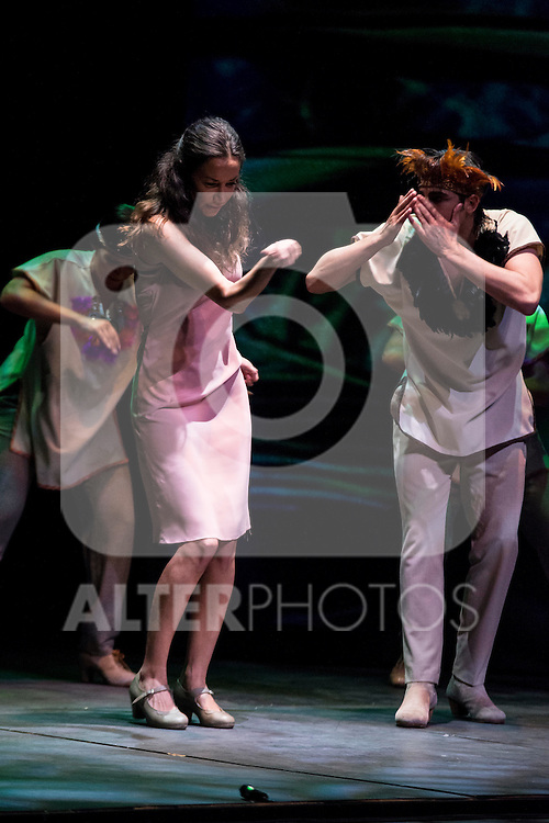 Estreno de Chavela, el nuevo trabajo de Cecilia Gómez en el Teatro Reina Victoria.<br /> (ALTERPHOTOS/BorjaB.Hojas)