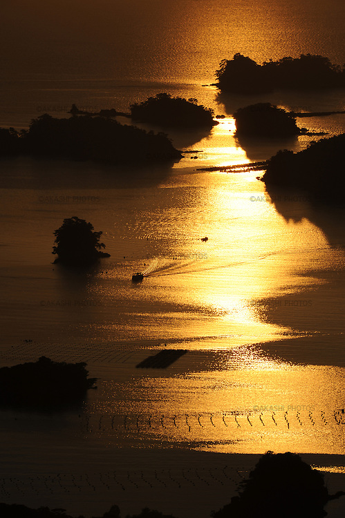 Kujukushima (99 islands) in Sasebo.<br /> <br /> Kujukushima (99 îles) à Sasebo.