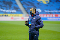 SOLNA, SWEDEN - APRIL 10: Vlatko Andonovski head coach of the United States women's national team before a game between Sweden and USWNT at Friends Arena on April 10, 2021 in Solna, Sweden.