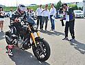 Keanu Reeves shows off his Arch KRGT-1 bike in Japan
