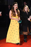 """LONDON, UK. October 08, 2019: Katherine Langford arriving for the """"Knives Out"""" screening as part of the London Film Festival 2019 at the Odeon Leicester Square, London.<br /> Picture: Steve Vas/Featureflash"""