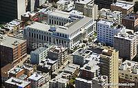 aerial photograph Ritz Carlton hotel San Francisco California